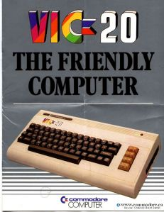 Vic 20 commercial